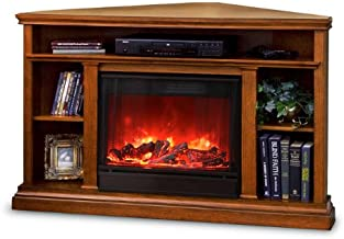 Real Flame Churchill Electric Fireplace, Oak