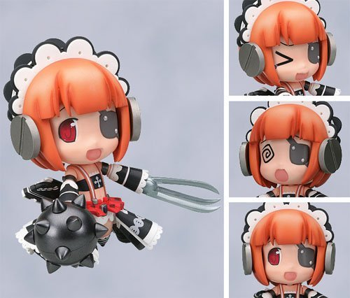 Nitro Wars Ouka Chan offensive armed complete ver Nendoroid. (japan import)