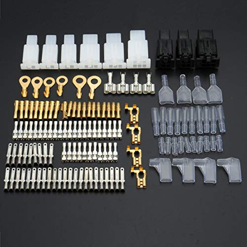 ILS - Tin Plate Brass Terminal Repair Kit Male vrouwelijke connector wiring Loom Automotive Motor Bike