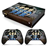 Controller Gear Officially Licensed Console Skin Bundle for Xbox One X - Fallout - Vault Boys