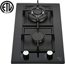 gas cooktop with wok burner
