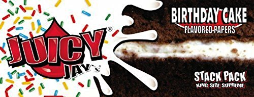 Juicy Jays Birthday Cake Flavoured Rolling Papers King Size Supreme
