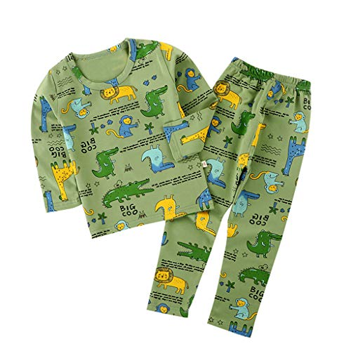 Sale!! BPOF99 Baby Girl Rompers Adorable Child Baby Long Sleeve Cartoon TopsPants Pajamas Sleepwear ...