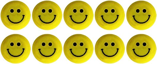 IMAGINATIVE Round Cartoon Emoji Smile Smiley Face Magnet Buttons for Refrigerator, Magnetic Sticker Office Notes, Home Decoration Size 3cm Dia.(Set of 6)