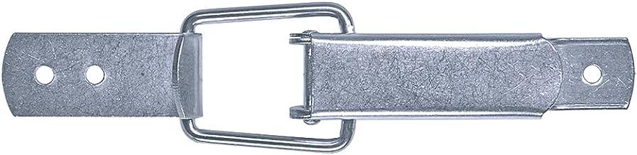 GOEBEL® - 100 stuks - spansluiting 2/55/60 standaard kapslot met gebogen bodemplaat incl. tegenhaak aluminium - kistsluiti...