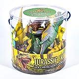 TOYLAND 18 Dinosaurios de Pieza de época jurásica en la Tina Juega a...