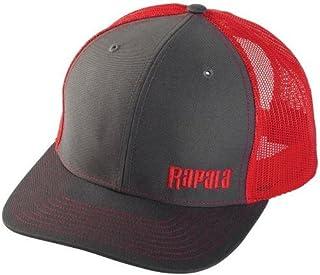 Rapala Trucker Cap Charcoal/Red Mesh Left Logo