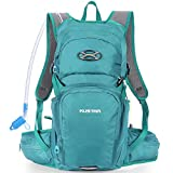 KUSTAR Hydration Pack Backpack with 2L Leakproof Water Bladder BPA Free,Lightweight Water Backpack for Hiking,Running,Cycling,Camping