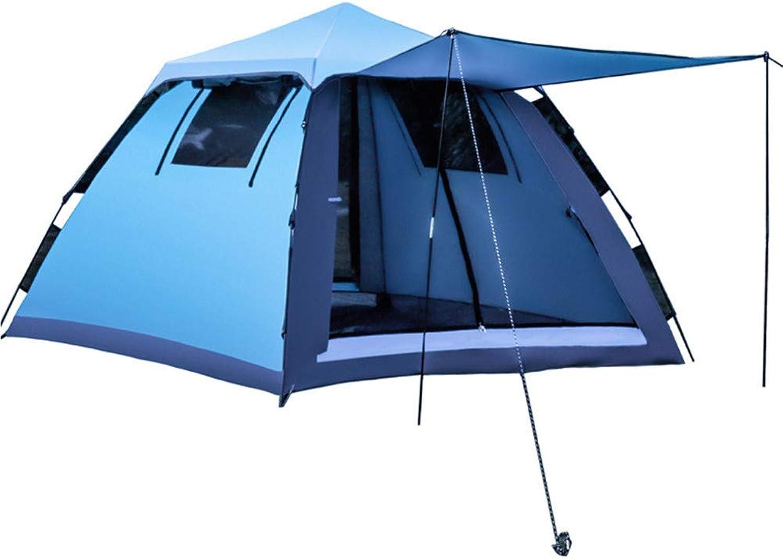 Zelt Campingzelt Festivalzelt Familienzelt Tragbar Camping Strand Winddicht Und Wasserdicht 2 3-4 Leute