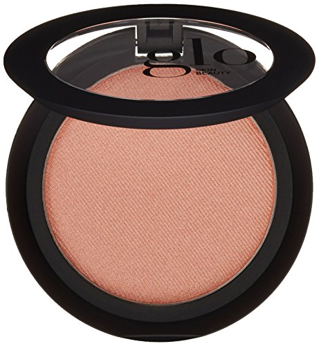 Glo Skin Beauty Powder Blush in Soleil - Shimmery Coral Bronze - 9 Shades - Cruelty Free, Talc Free Mineral Makeup