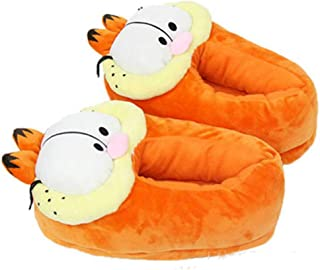 Chaussures Garfield Furry Shoes Home Soft Winter Warm Cotton Shoes 28cm