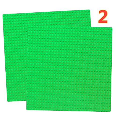 10' x 10' Base Plate Set Compatible with Classic Baseplate Plates Green Board Mat