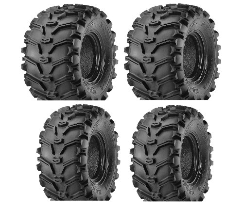 2 FRONT 25-8-12 & 2 REAR 25-10-12 ATV Kenda Bearclaw TIRES