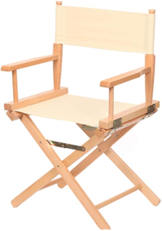 JIE-Barhocker Direktor Stuhl Schnheit Maskenbildner Stuhl Rückenlehne Stuhl Schauspieler Stuhl Klappraum Stuhl Leinwand Stuhl (Farbe   Gelb)