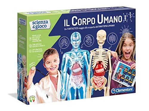 Clementoni 19027Físicos y Juegos El Cuerpo Humano Medium Multicolor