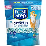 Fresh Step Crystals Premium Cat Litter, Scented, 8 Pounds
