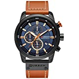 Mens Watches Military Chronograph Large Face...