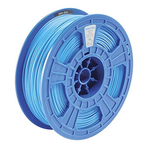 Dremel DigiLab PLA-BLU-01 3D Printer Filament, 1.75 mm Diameter, 0.75 kg Spool Weight, Color Blue, RFID Enabled, New Formula and 50 Percent More per Spool