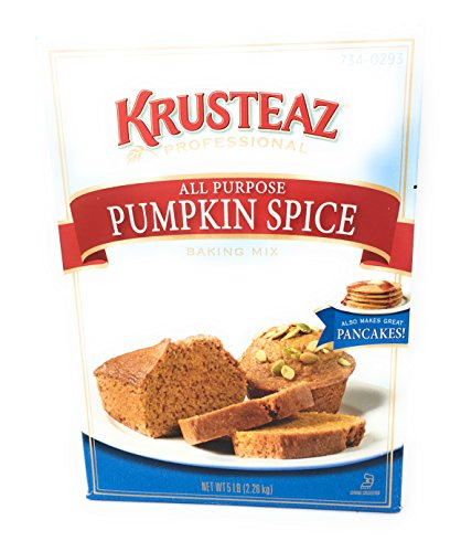 Krusteaz All Purpose Pumpkin Spice Baking Mix 5 Pound Box