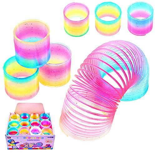 Gshy Rainbow Magic - Juego de 3 juguetes de plástico para niños de color primavera