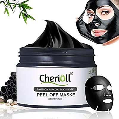 Deep Cleansing Blackhead Remover Anti Acne Oil Control Purifying Activated Carbon Remover Deep Cleaning (120g) by Toulifly