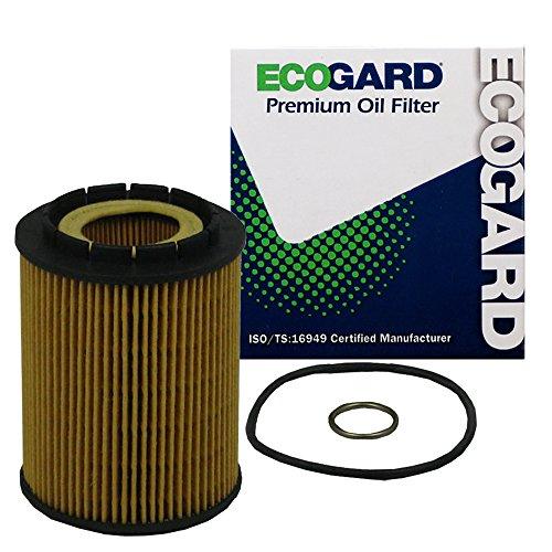 ECOGARD X5545 Premium Cartridge Engine Oil Filter for Conventional Oil Fits Audi Q7 3.6L 2007-2010, A8 Quattro 4.2L 2000-2003, S8 4.2L 2001-2003 | Porsche Cayenne 3.6L 2008-2010