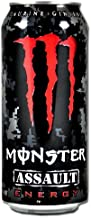 Monster Energy Drink, Assault, 16-Ounce Cans (Pack of 8)