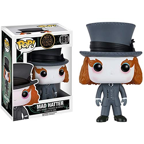 Funko Pop Movies : Alice in Wonderland - Mad Hatter 3.75inch Vinyl Gift for Anime Fans Superhappy
