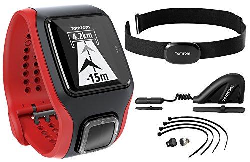 TomTom GPS Sportuhr Multisport Cardio HRM-Cadence, One size, 1RH0.001.02