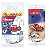 Vileda Lingettes dépoussiérantes jetables pour robot dépoussiérant Virobi & Vileda 136133 Pack de 20 Lingettes Virobi