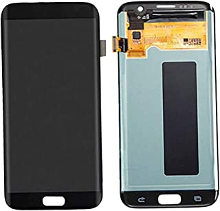 390074c0503 perfk 1x Digitalizador LCD Pantalla Tàctil Trabaja con Samsung S7 Edge  Móvil Inteligente - Negro