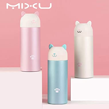 MIXU Catto Cat Shape Smart Thermos Bottle with Temperature Display, 304 Stainless Steel Food Grade Insulation Vacuum Flask, L