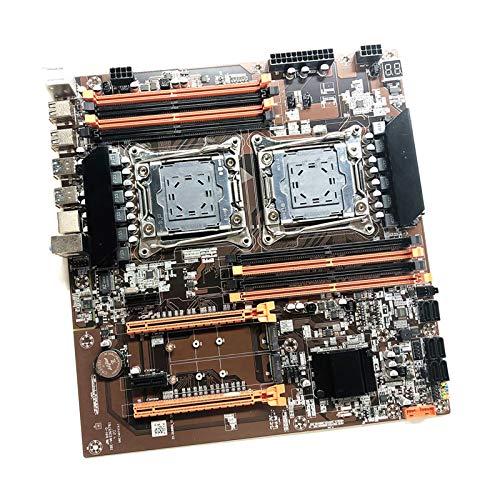 MagiDeal X99 Conjunto de Placa Base para Computadora de Doble Canal LGA 2011-3 CPU DDR4 Placa Base