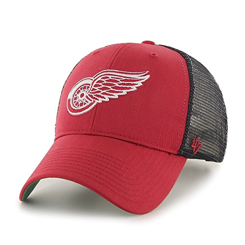 '47 Brand Detroit Red Wings Branson NHL Trucker Cap