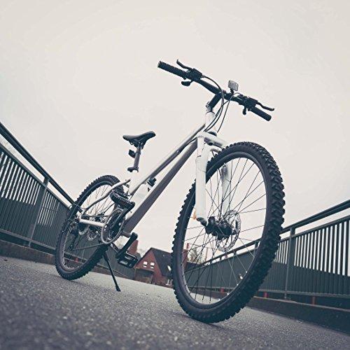 Ultrasport Hardtail Mountainbike 26 Zoll, 21-Gang Shimano-Kettenschaltung, Federgabel, mechanische Scheibenbremsen, A-Head Vorbau, inkl. Trinkflasche - 2