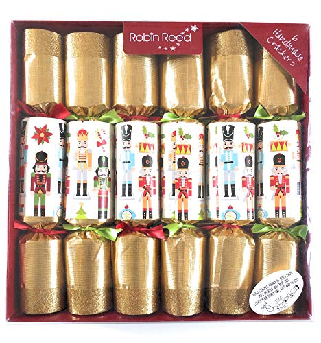 Classic English Festive Party Favours, Gift Box Set of 6, Nutcracker Edition