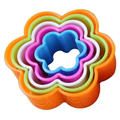 ZHOUBA Fondant-Kuchen Sugarcraft Ausstecher Ausstechformen-Set, zum Formen, plastik, blume, Flower*
