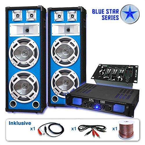 PA Set Blue Star Series Basskern USB 2800 Watt