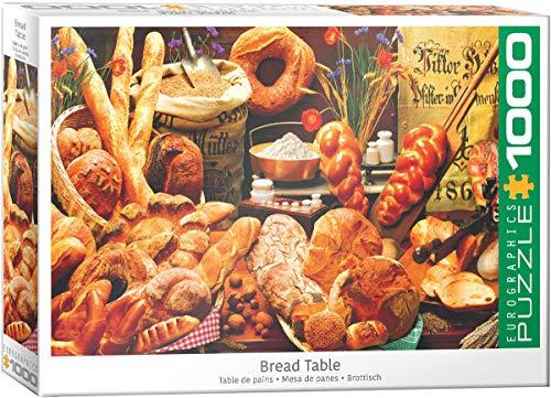 empireposter Heerlijke broodsoorten Backers trots 1000 stukjes puzzel formaat 68 x 48 cm
