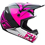 Fly 2019 Elite - Casco de vigilancia, color rosa y negro