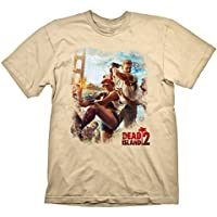 Dead Island 2 T-Shirt Key Art Golden Gate Cream, S [Importación Alemana]