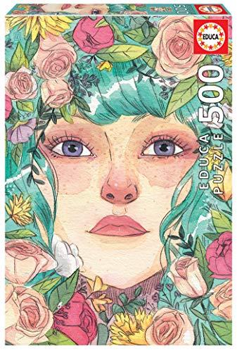 Educa Exclusive Series Esther Gili Mayo. Puzzle de 500 Piezas. Ref. 19015, Multicolor