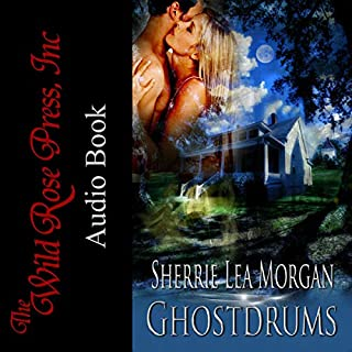 Ghostdrums audiobook cover art