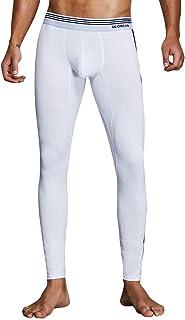 Xmiral Pantaloni Termici Uomo Compressione Calzamaglia Baselayer Pantaloni Leggings Sportivi