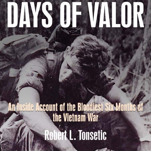 Days of Valor audiobook cover art