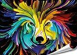 "PMP 4life. XXL Poster ""Wolf""  140x100cm  "
