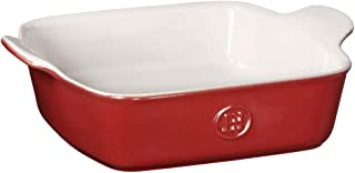 "Emile Henry Made In France HR Modern Classics Square Baking Dish 8 x 8"" / 2 Qt, Red"