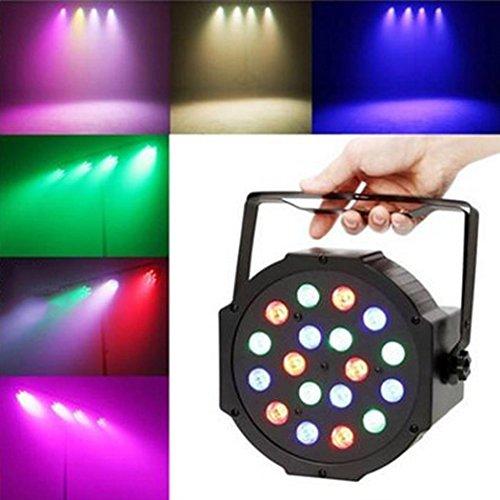 Par Lights, Fansport Led Stage Dj Lights Iluminación de escenario Uplighting Rgb Dmx512 Party Lights para Disco Wedding Wash Dj Blacklight