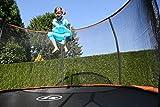 SportPlus Gartentrampolin, TÜV GS geprüft, Sprungtuch ca. 305cm, schweißnahtfreie Rahmenkonstruktion, abnehmbares Sicherheitsnetz, inkl. Randabdeckung, Nutzergewicht bis 120kg - 8