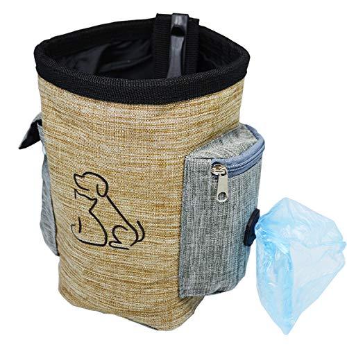 Dorras Leckerli-Tasche für Hunde mit Leckerlis, Trainingstasche für Hüftgurte für Haustiere, Kibble, Leckerlis, Hundezubehör für kleine und große Hunde